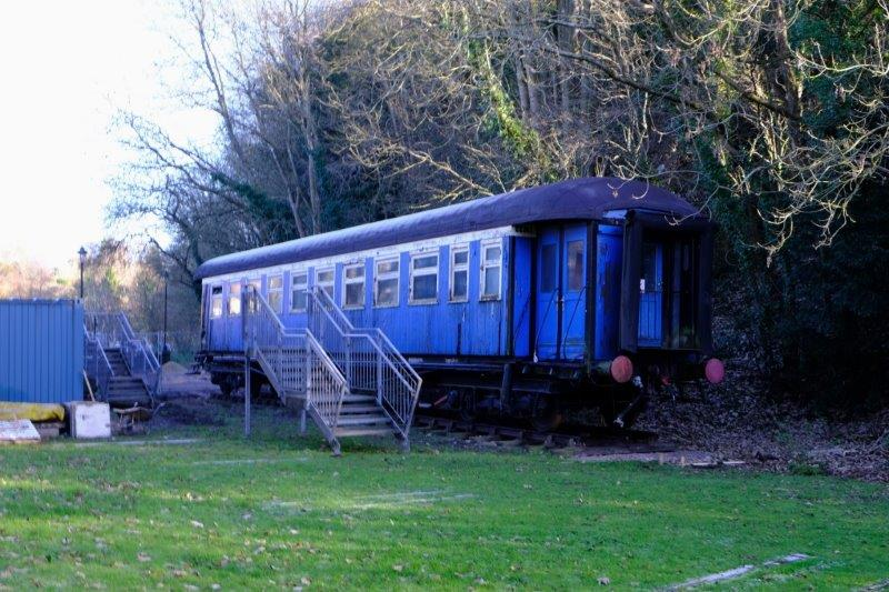 Not a British Rail carriage but ideal for an old station yard