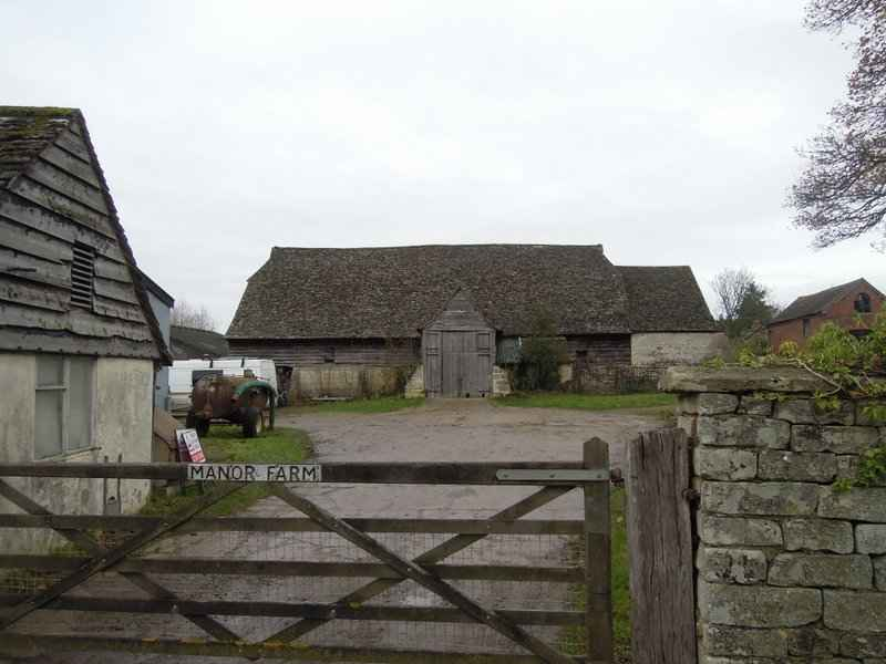 Interesting barn