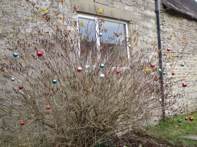 Baubles in Brimpsfield