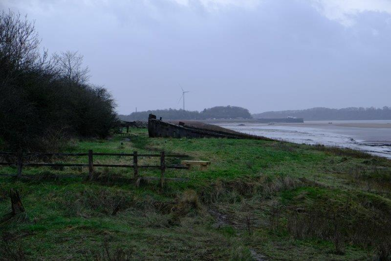 Looking down towards Sharpness