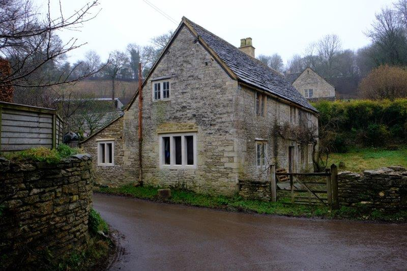 An old cottage being renovated