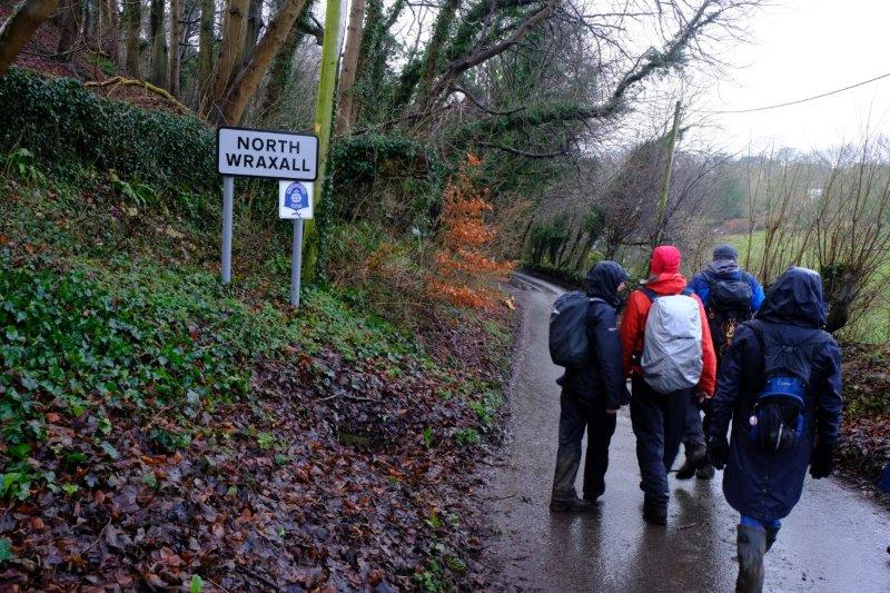 To reach North Wraxall