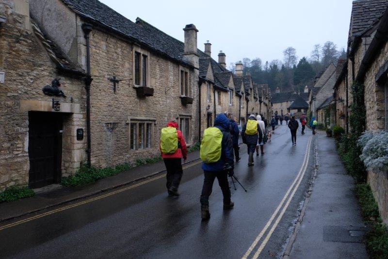 Where we walk up the main street