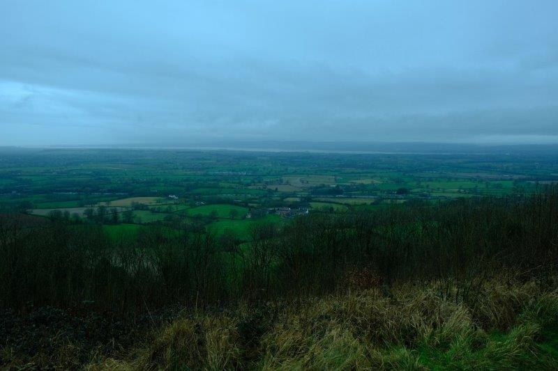 Looking down into the Severn Valley