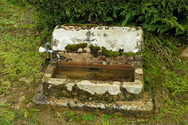 Old stone trough - came from Quenington