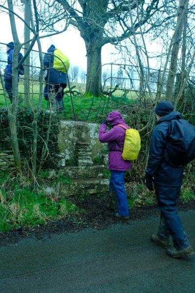 Then over a steep stile