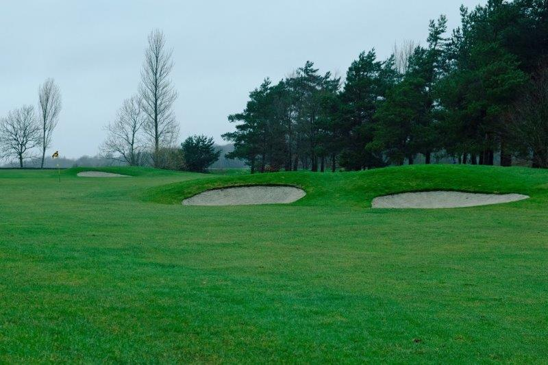 Past more bunkers