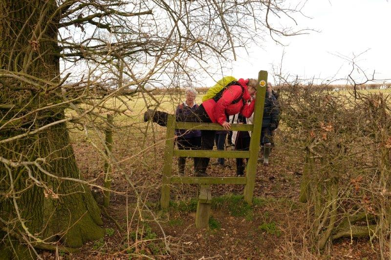 This stile requires a bit of effort