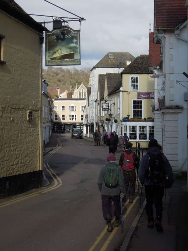 And back through the Olde World architecture of Wotton…