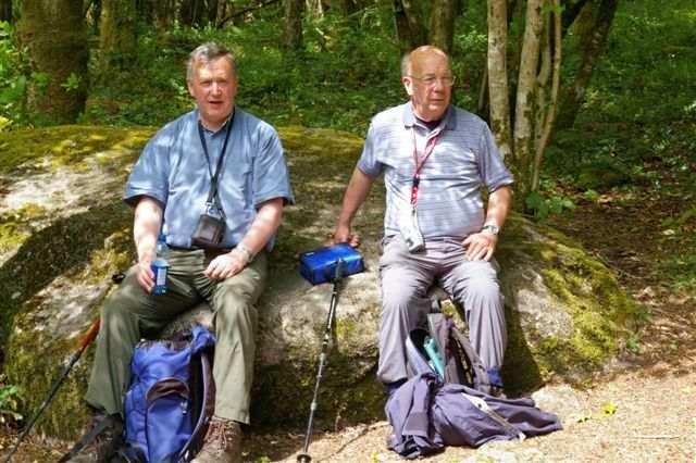 David and Maurice near Dartmouth 2007
