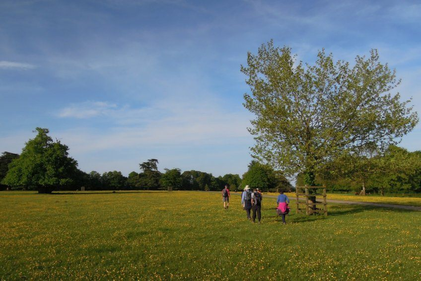 A sunny evening walk from Ozleworth