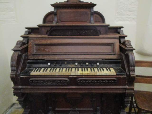 With a very old organ