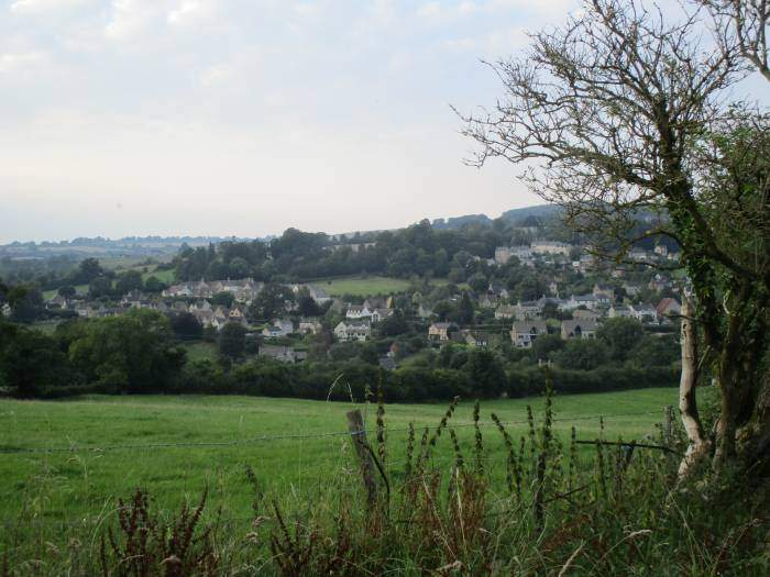 Views back to Painswick