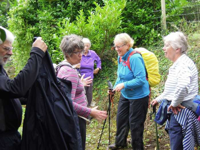 Ann relates a joke we heard  in Brecon - say no more!