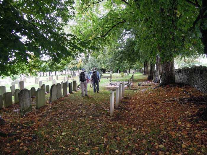 ... Minchinhampton churchyard