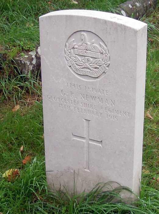 A World War I war grave. How does it remain so pristine, we wonder. ** See below**