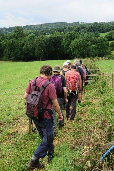On downhill to the Painswick Stream