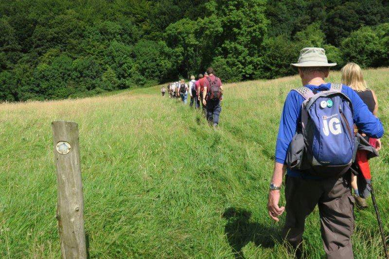 Before we climb over Sheepscombe Common to head downhill