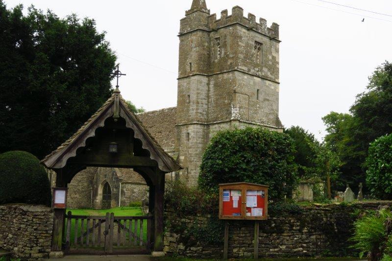 Out past Kingscote Church