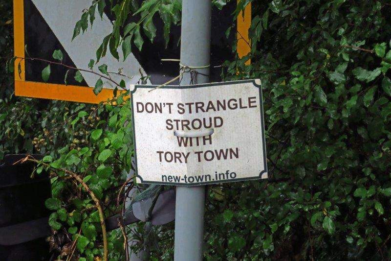 Tory? I thought Stroud had been a Tory town for some years