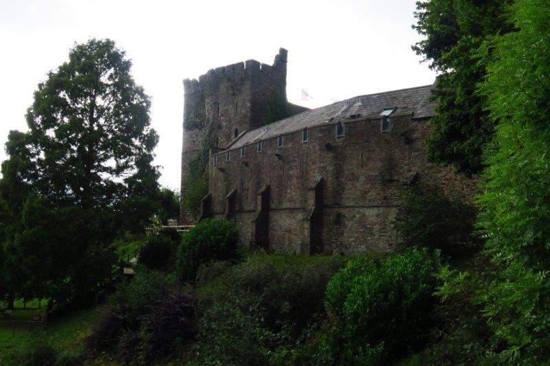 Brecon Castle - now a hotel