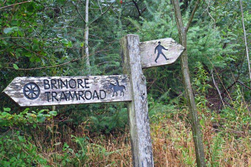 On the Brinore Tramroad