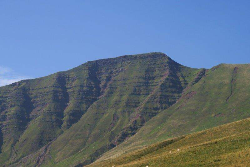And ahead at Pen y Fan