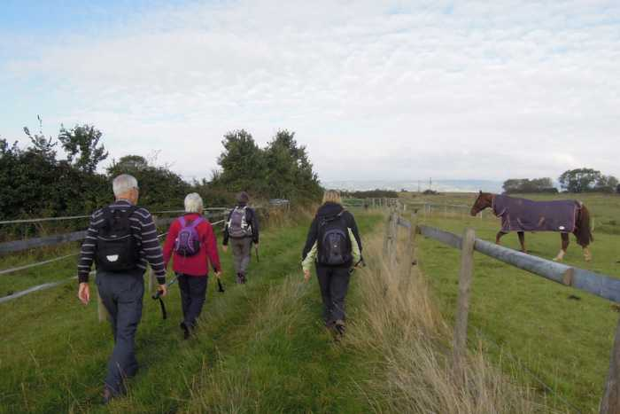 We set off towards the Severn