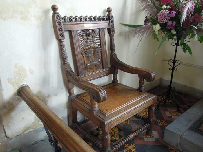 And a lovely chair