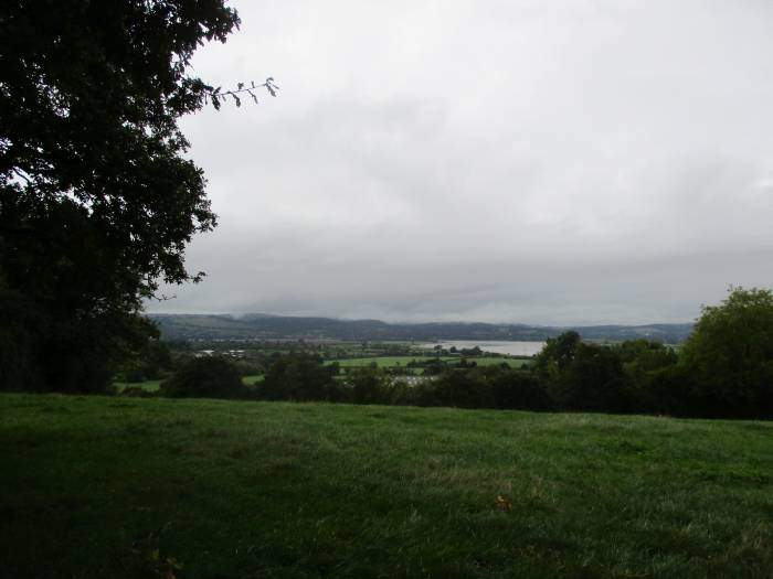Grey cloud over the Severn