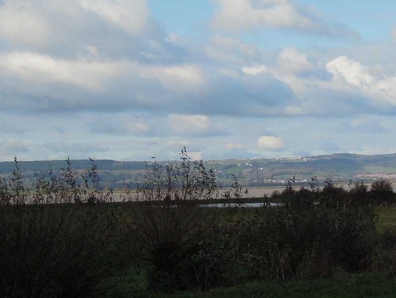 Looking West we can see Cinderford on the hill top