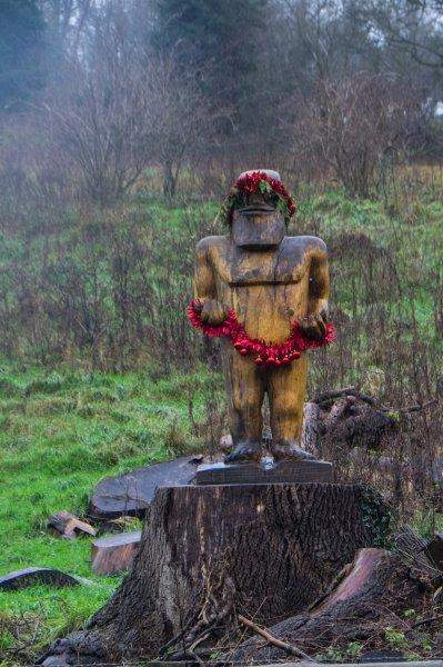 Taking to the road due to an underwater towpath where we spot this character