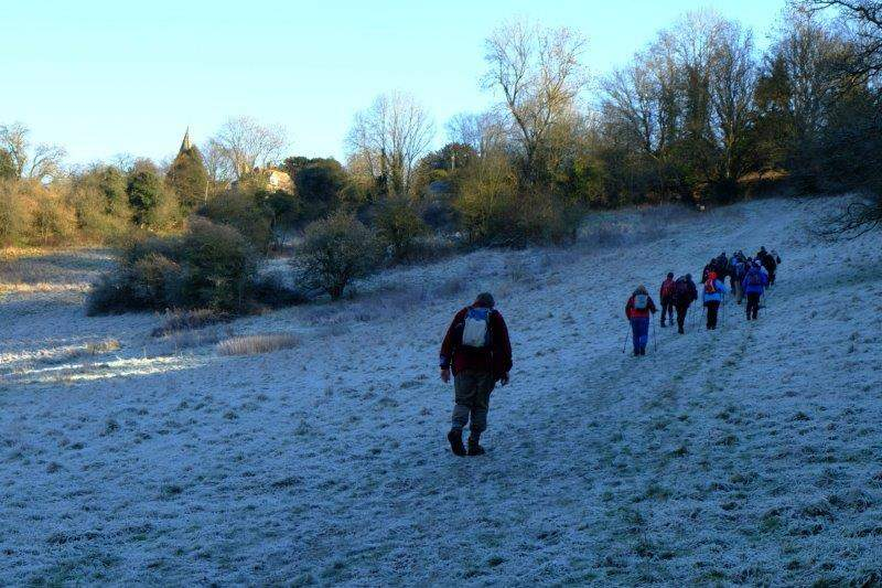 And head uphill into Sapperton