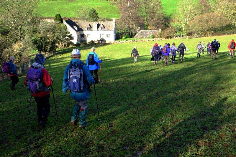 And down into the Painswick Valley