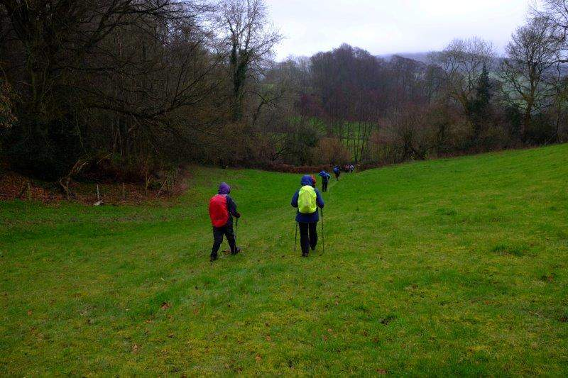 Back down into the Painswick Valley