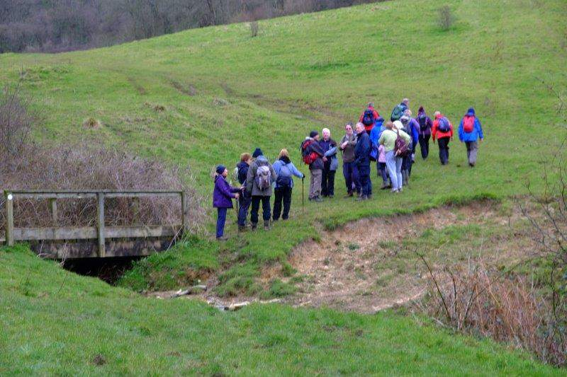 We cross the stream again