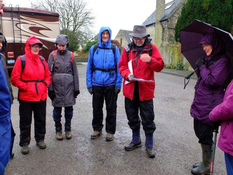 Wet again. But are we downhearted? Yes