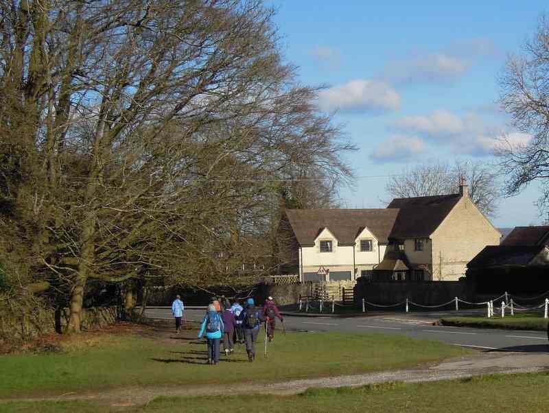 Passing Bownham Park