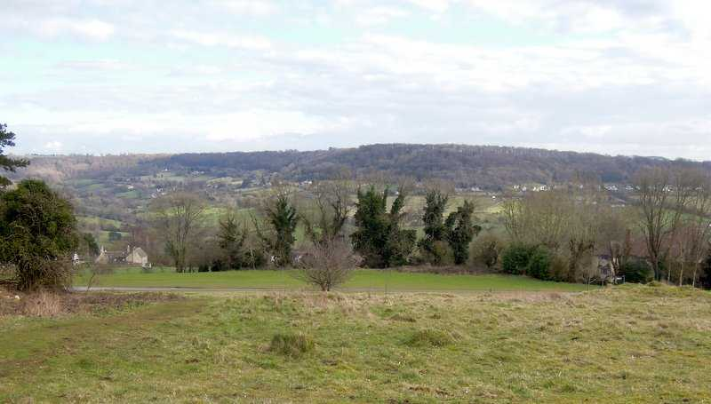 With its views of the morning section along Longridge and through Sheepscombe. For the record the walk was 10.25 miles long, max height 909 feet, minimum 250 feet, height ascended 1,868 feet in 4 climbs.