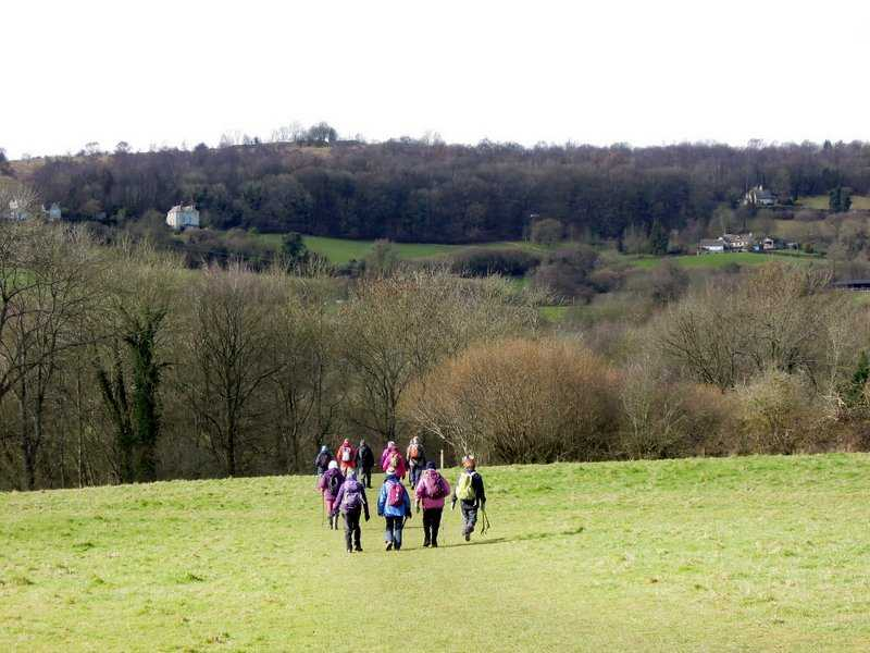 We head down the Cotswold Way