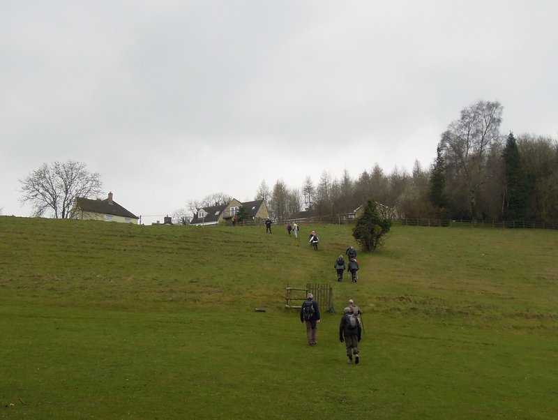 We toil up to Bospin Lane, South Woodchester