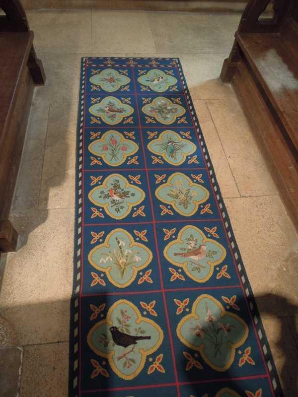 A lovely carpet