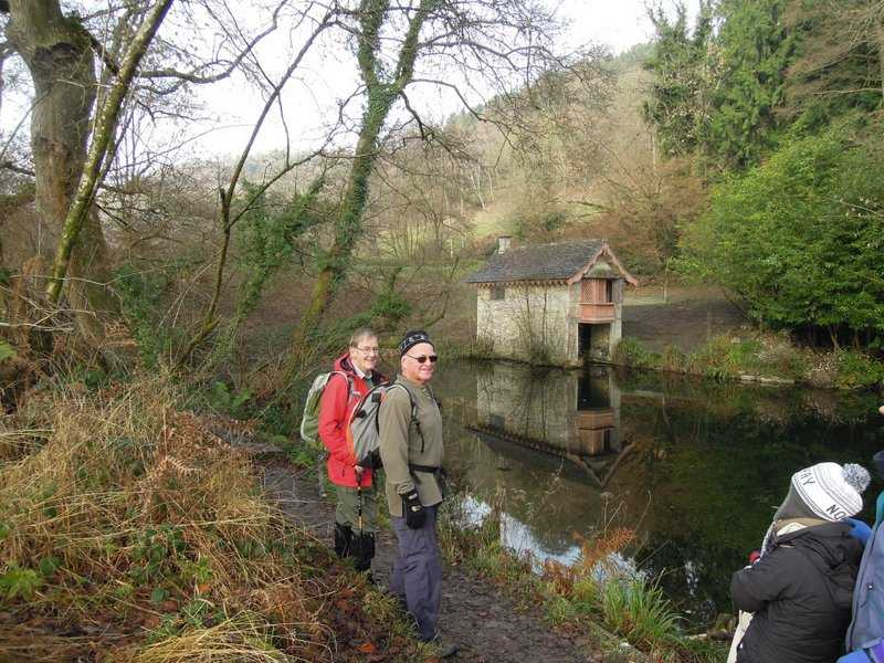 Brian remembers working on the roof of the old boathouse in the 1990's when the National Trust took over the Park