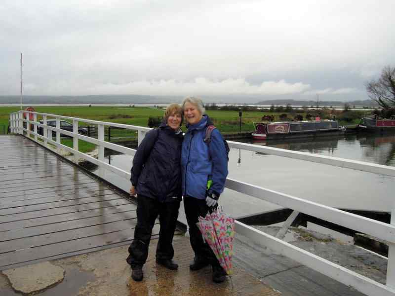 Our leader Anne and Ann pose