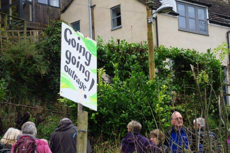 Another new house building protest?