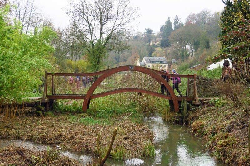 An ornamental bridge