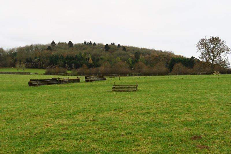 Then towards Foxcote passing a cross country course