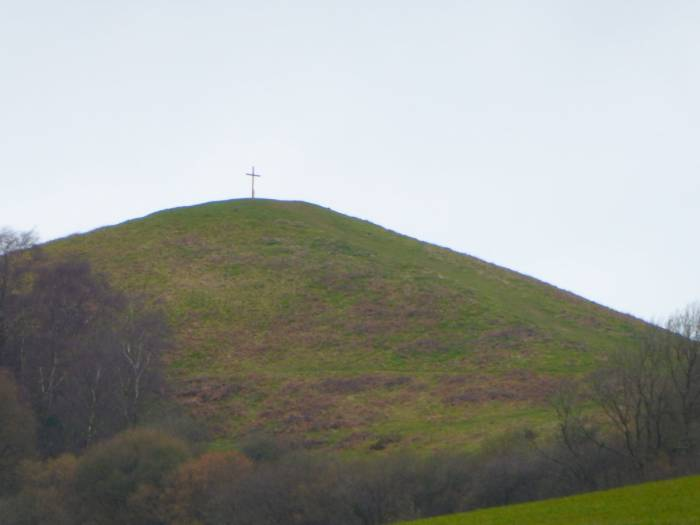 Cross on Cam Peak for Easter