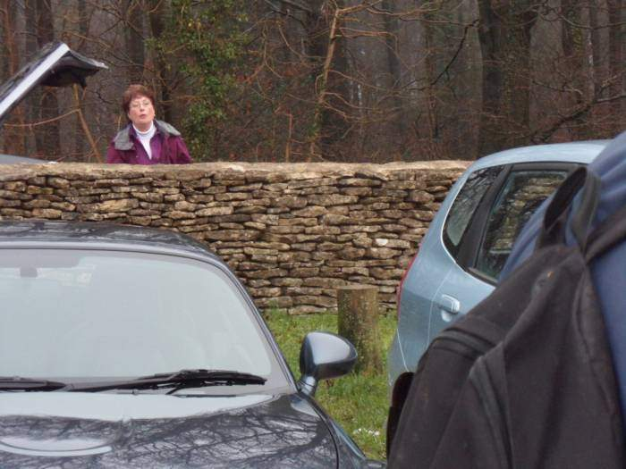It's Les, who got caught up in Stroud's awful traffic jam, and has only just made it