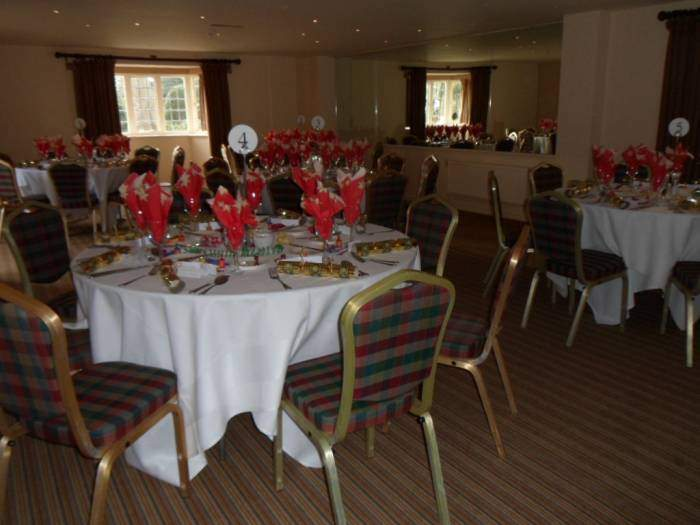 The room looked lovely, before we arrived!